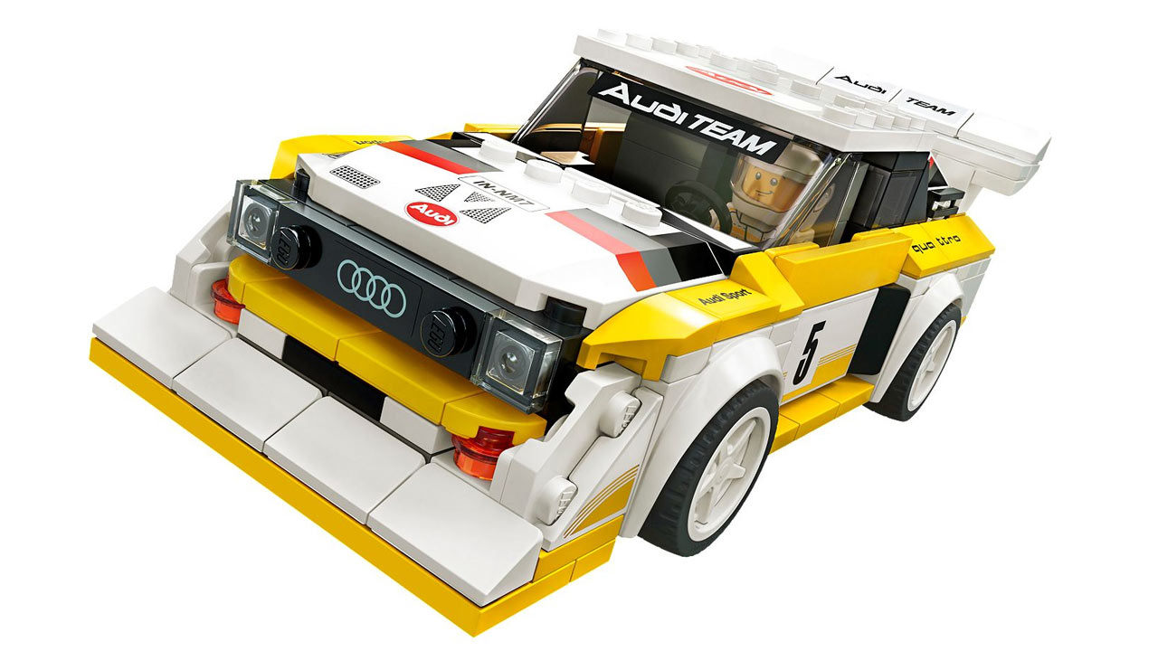 "Screenshot ""LEGO Speed Champions: 1985 Audi Sport quattro S1 (76897)"""