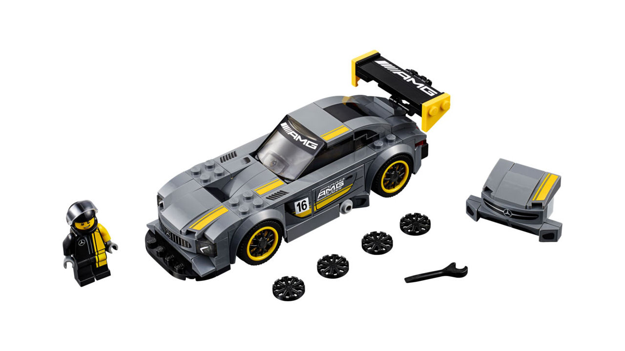 "Screenshot ""LEGO Speed Champions: Mercedes-AMG GT3 (75877)"""