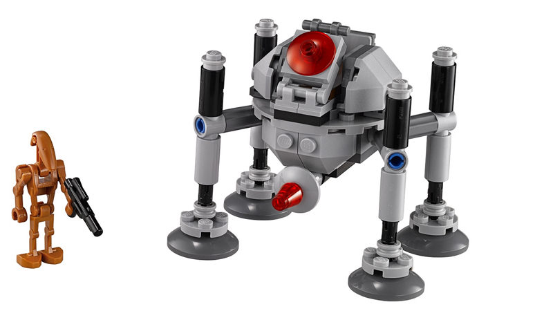 "Screenshot ""LEGO Star Wars: Homing Spider Droid -Microfighters- (75077)"""