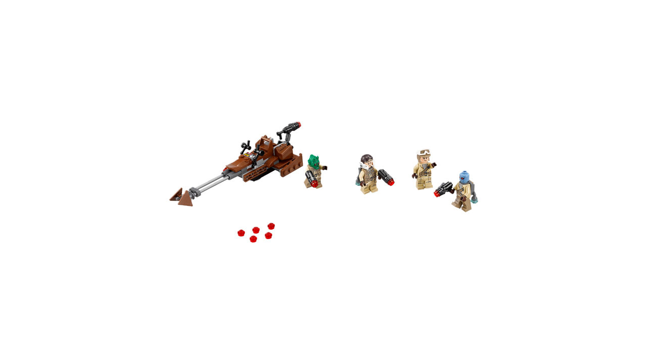 "Screenshot ""LEGO Star Wars: Rebel Alliance Battle Pack (75133)"""