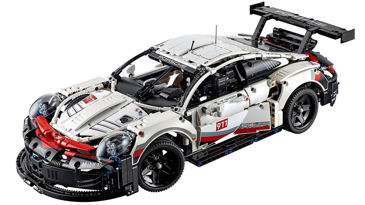 lego technic porsche 911 rsr 42096 lego world of games. Black Bedroom Furniture Sets. Home Design Ideas