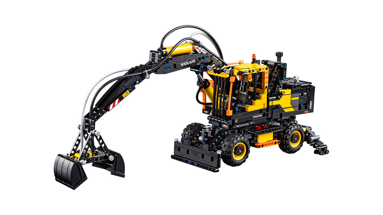 "Screenshot ""LEGO Technic: Volvo EW160E (42053)"""