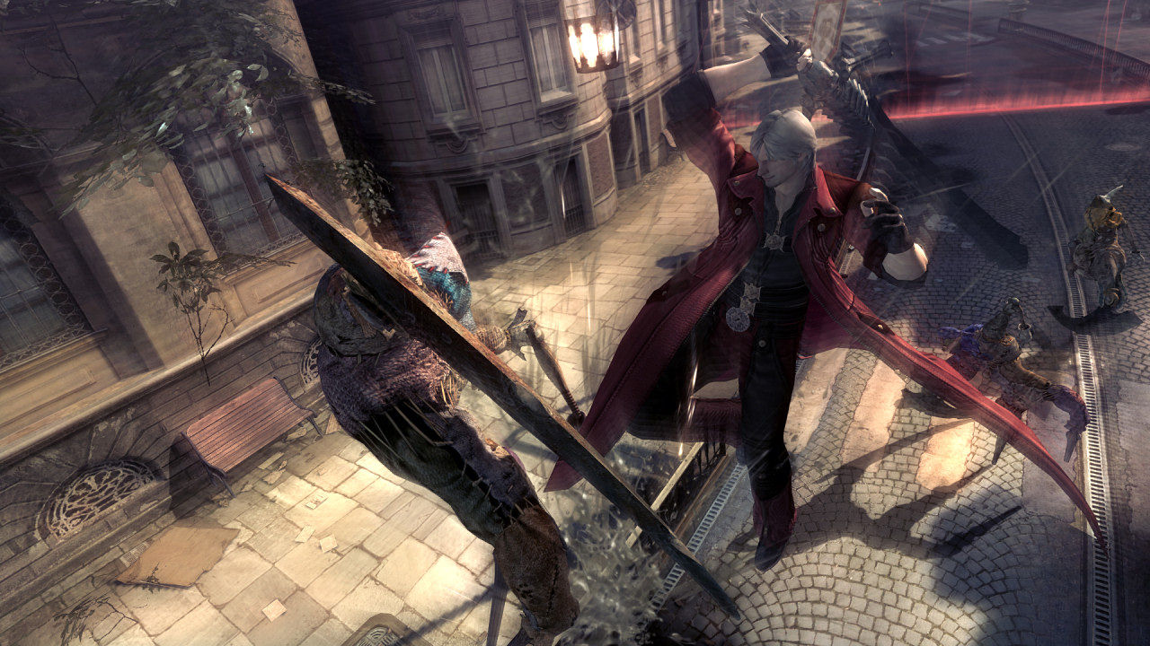 "Screenshot ""Devil May Cry 4"""