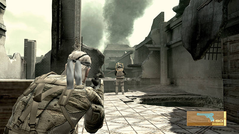"Screenshot ""Metal Gear Solid 4: Guns of the Patriots"""