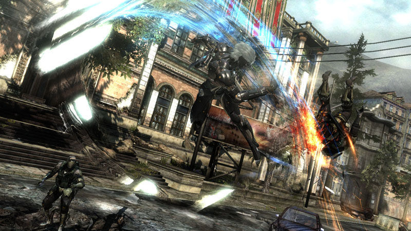 "Screenshot ""Metal Gear Rising: Revengeance"""