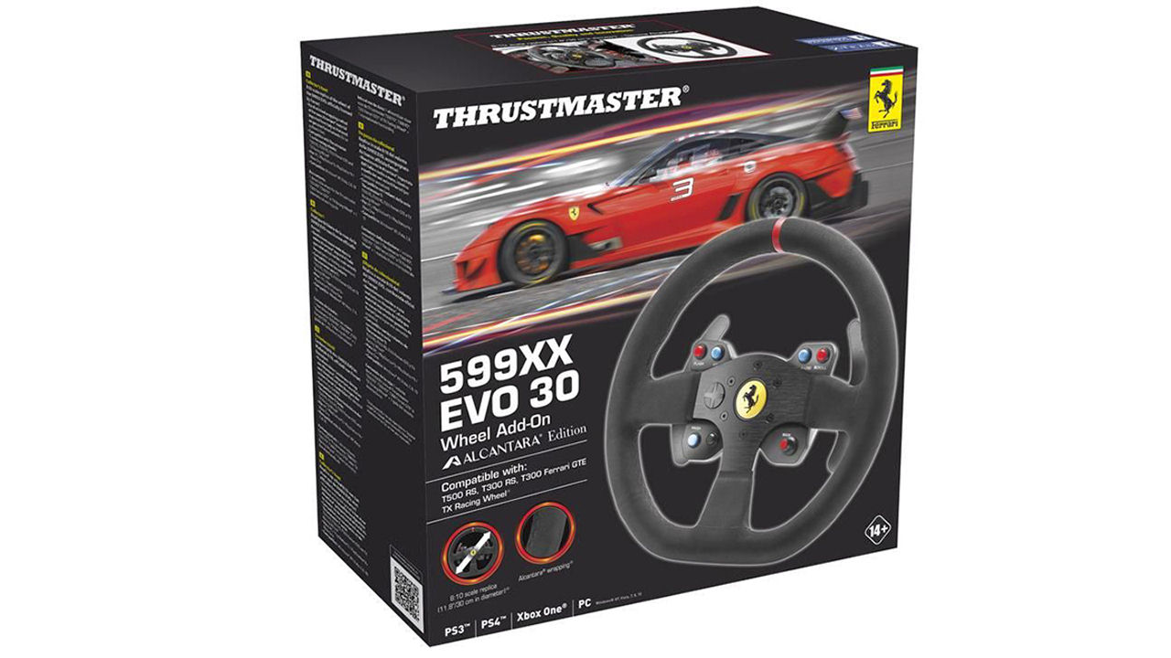 "Screenshot ""599XX Evo 30 Wheel Add-On - Alcantara Edition (Thrustmaster)"""