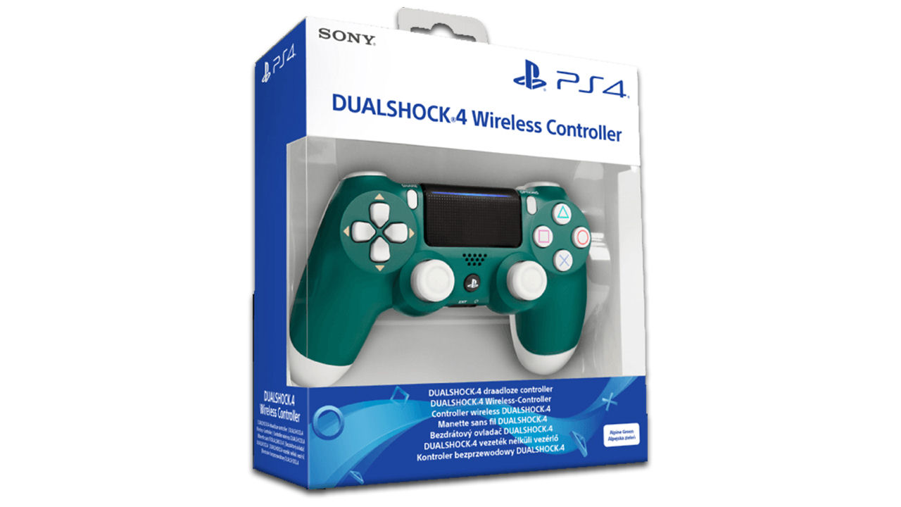 "Screenshot ""Controller Dualshock 4 -Alpine Green- (Sony)"""