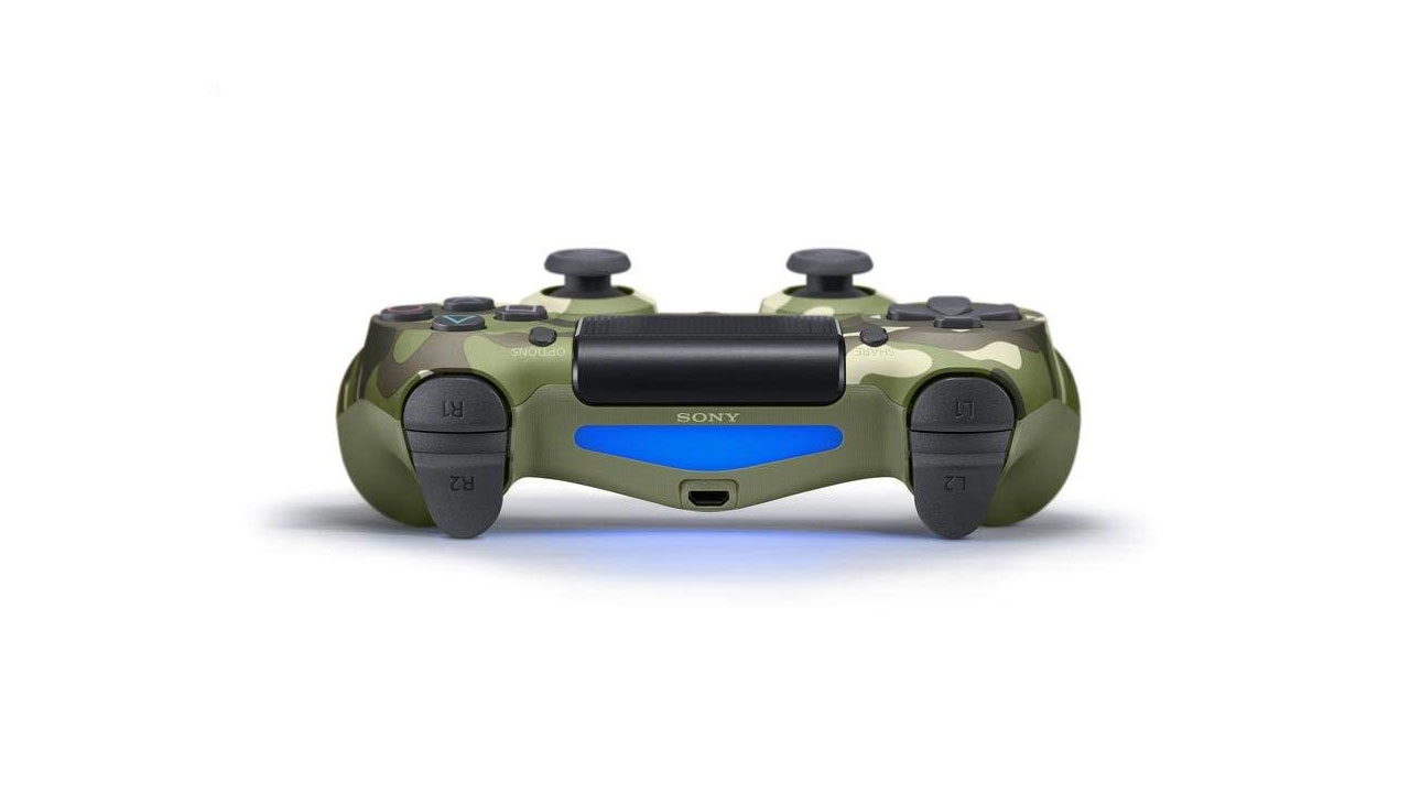 "Screenshot ""Controller Dualshock 4 -Green Camouflage- (Sony)"""