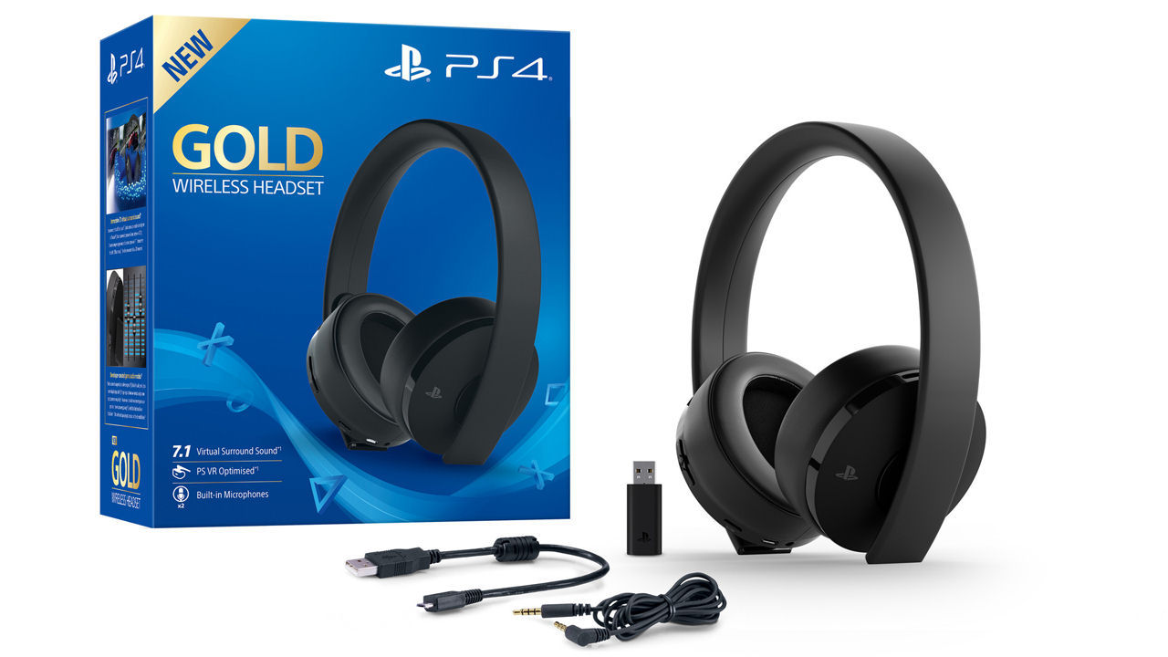 "Screenshot ""Headset Wireless Stereo 2.0 -Gold Edition- (Sony)"""