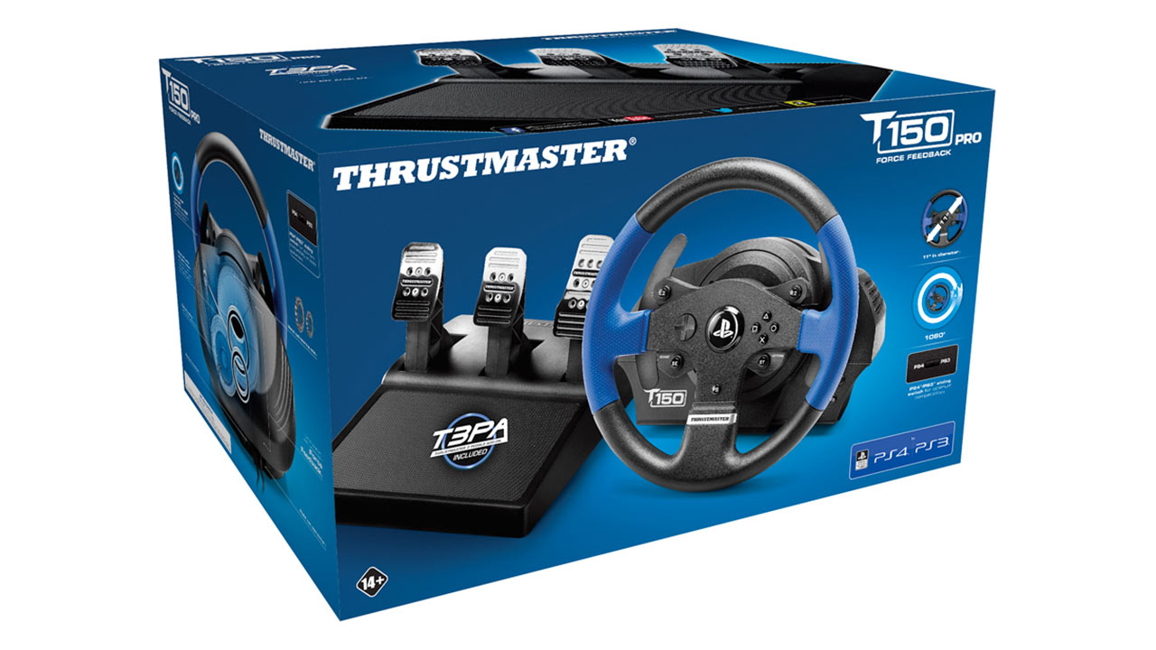 "Screenshot ""T150 Pro Force Feedback (Thrustmaster)"""