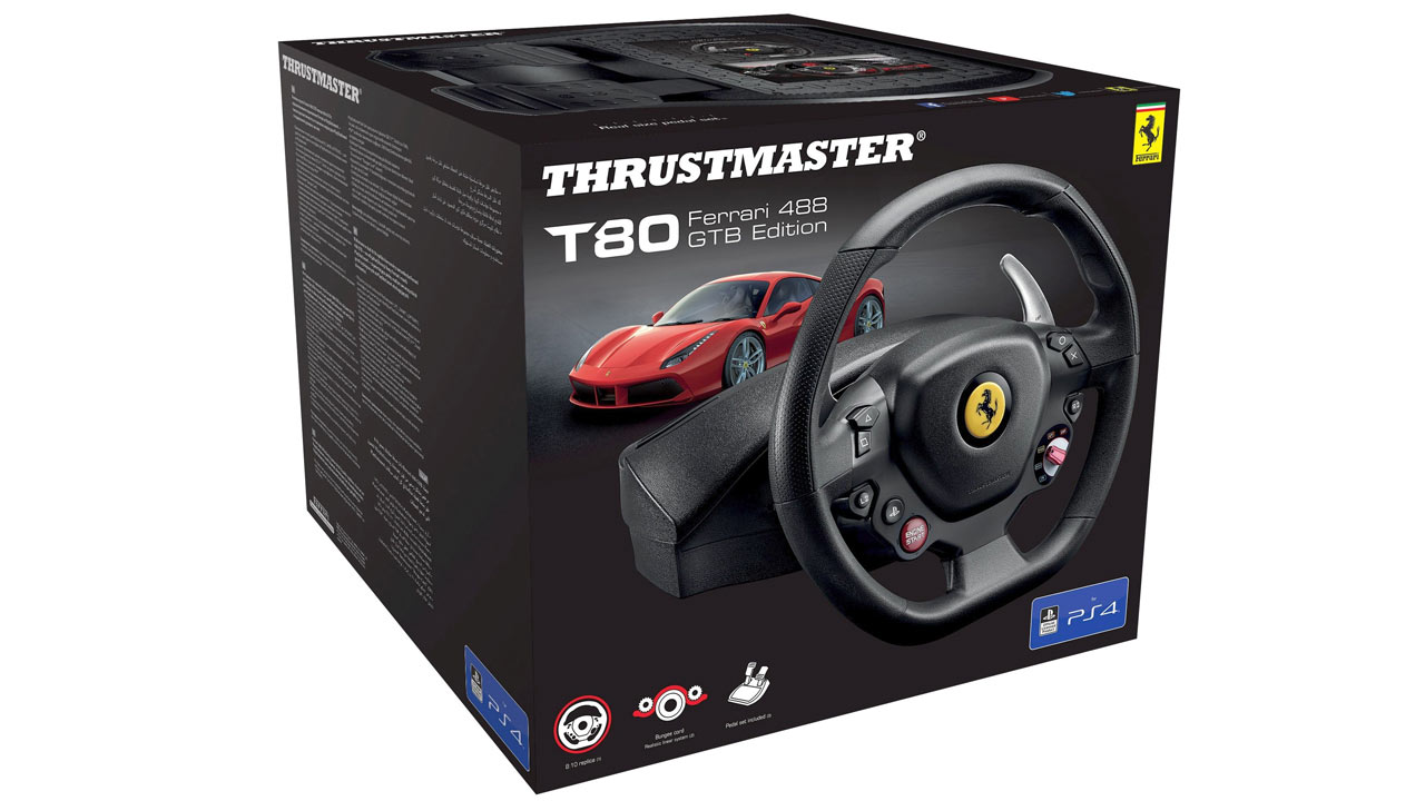 "Screenshot ""T80 Racing Wheel Ferrari 488 GTB Edition (Thrustmaster)"""
