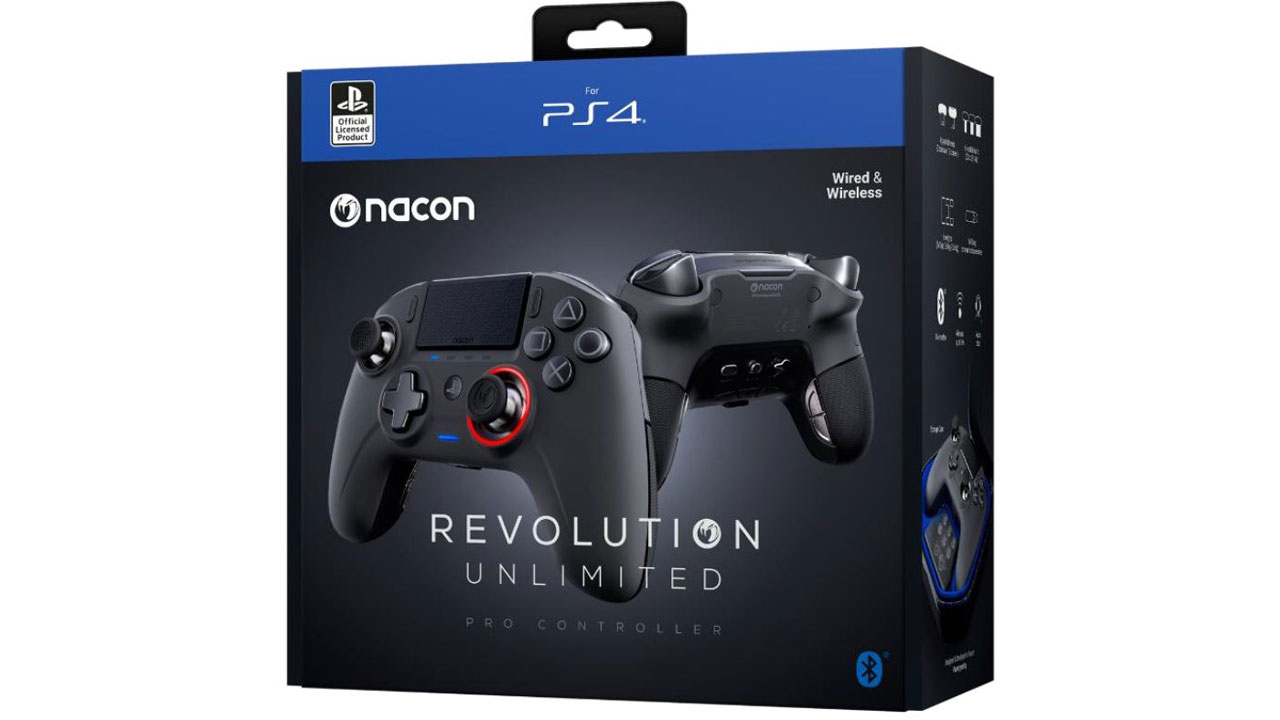 "Screenshot ""Revolution Unlimited Pro Controller (Nacon)"""