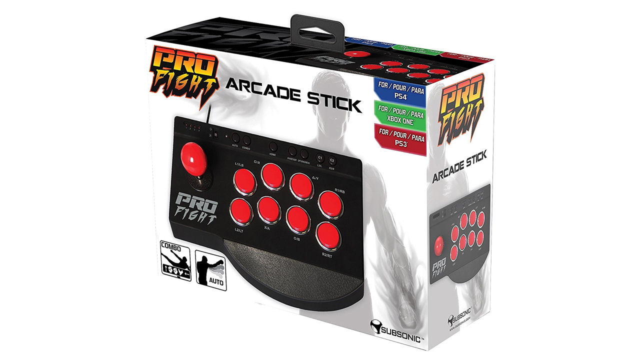 "Screenshot ""Pro Fight Arcade Stick (Subsonic)"""