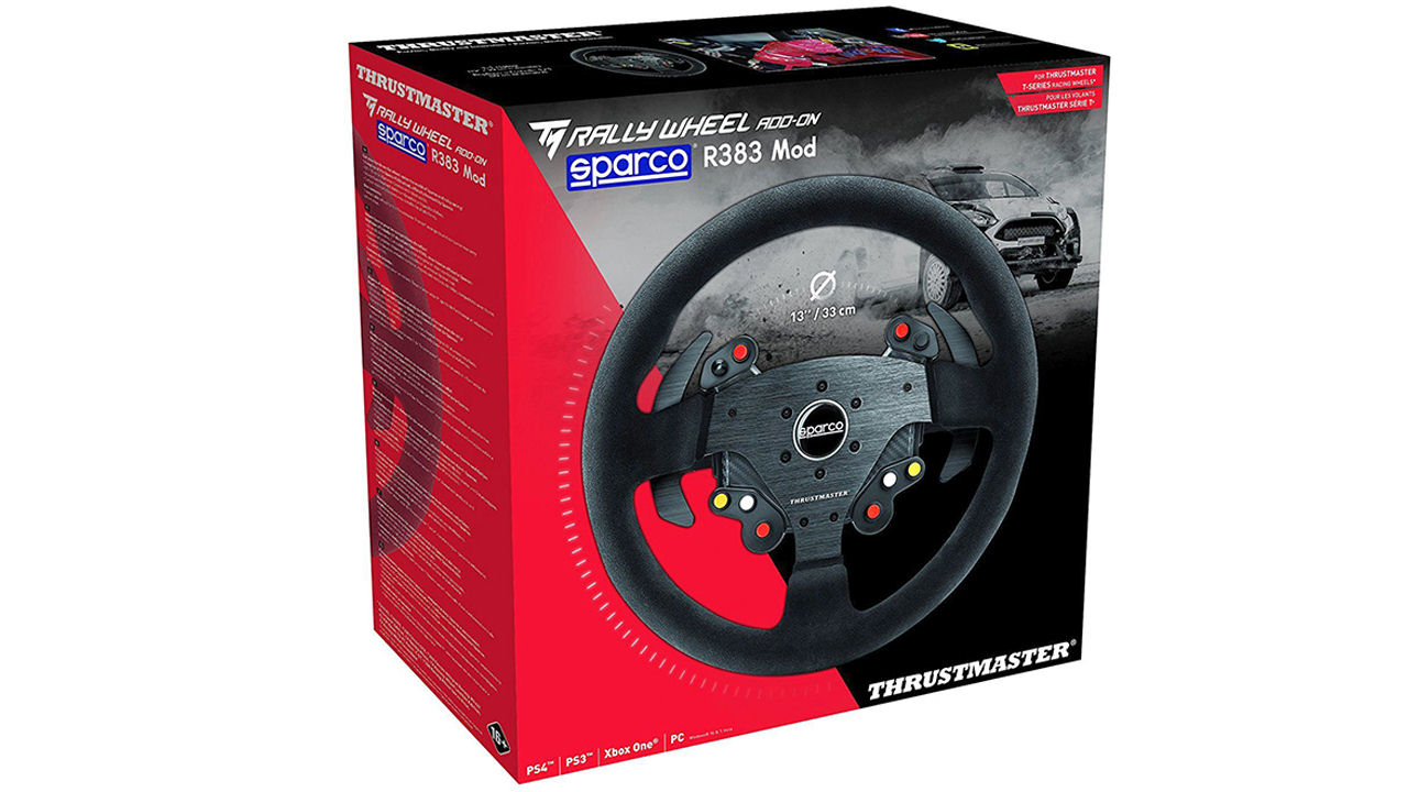 "Screenshot ""TM Rally Wheel Add-On Sparco R383 Mod (Thrustmaster)"""