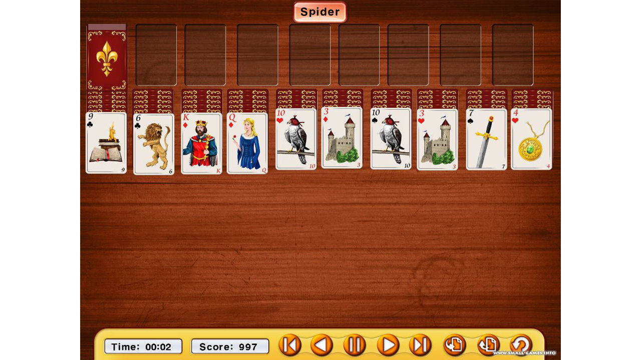 "Screenshot ""Absolute Solitaire Pro"""