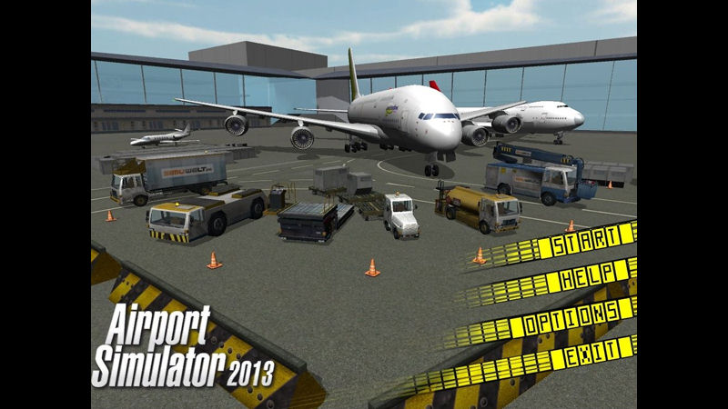 "Screenshot ""Airport Simulator 2013"""