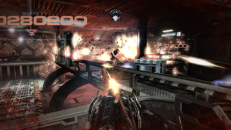 "Screenshot ""Alien Rage"""
