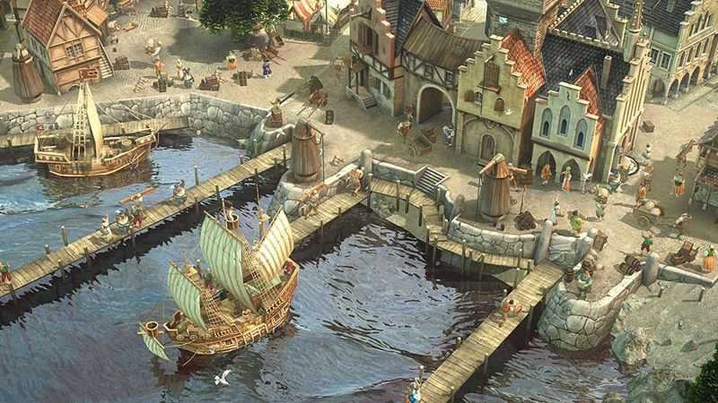 "Screenshot ""Anno 1404 - Königsedition"""