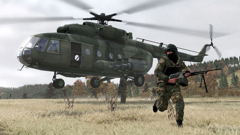 "Screenshot ""ArmA 2 - Combined Operations"""