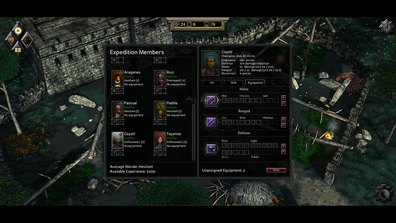 "Screenshot ""Expeditions: Conquistador - Special Edition"""
