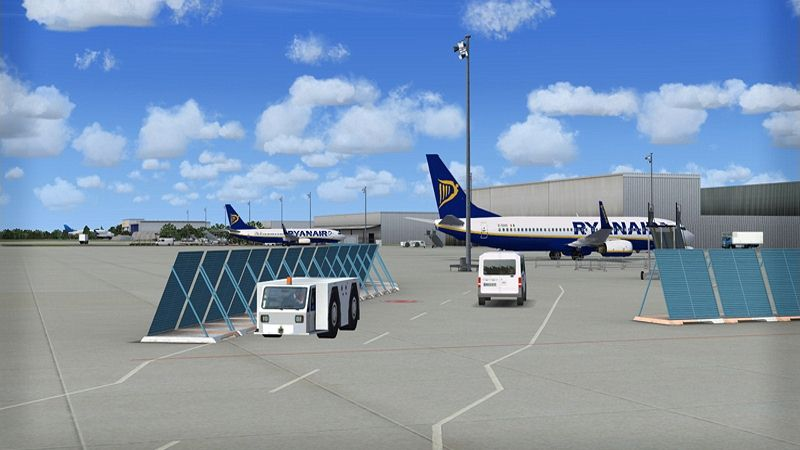 "Screenshot ""Flight Simulator X: German Regional Airports"""
