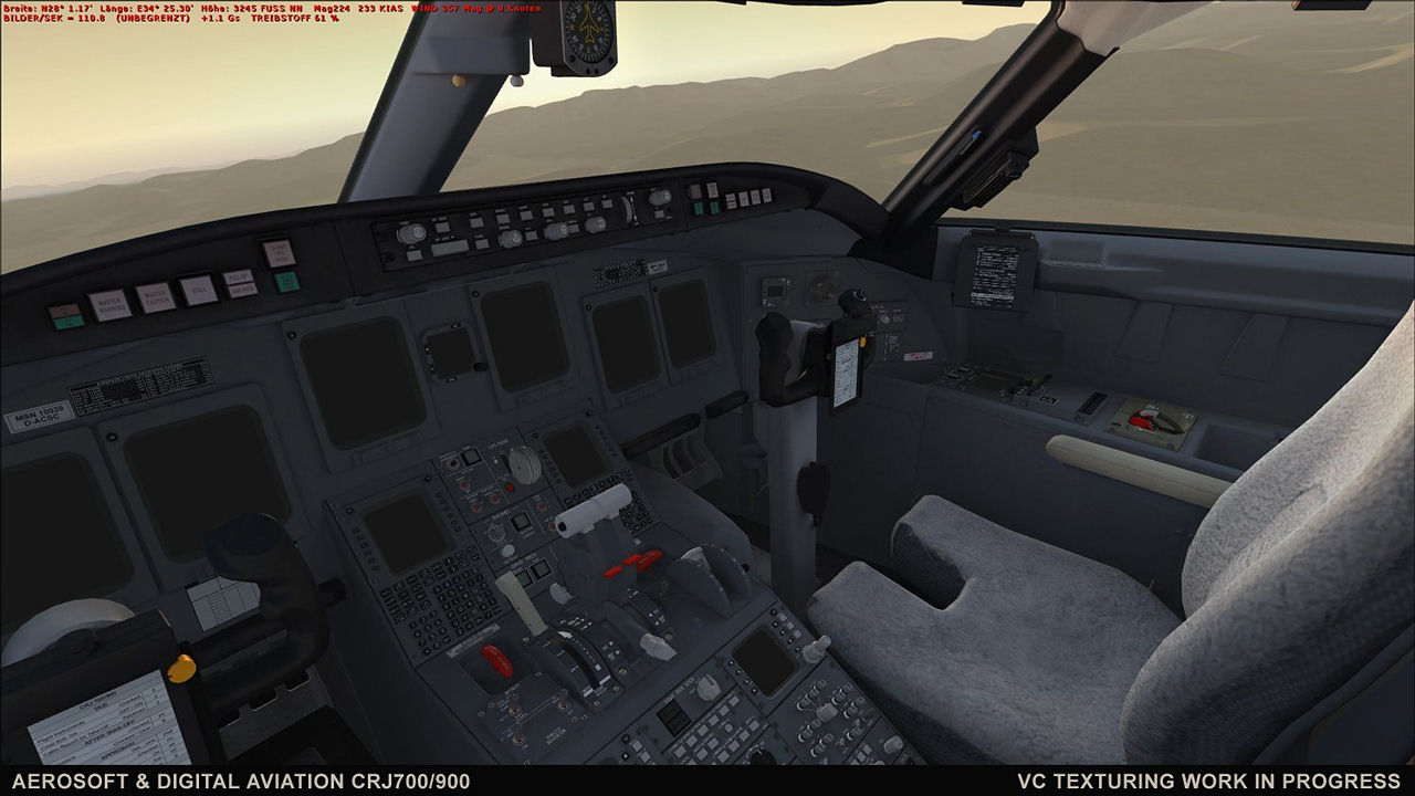"Screenshot ""Flight Simulator X Add-on: CRJ 700/900 X"""