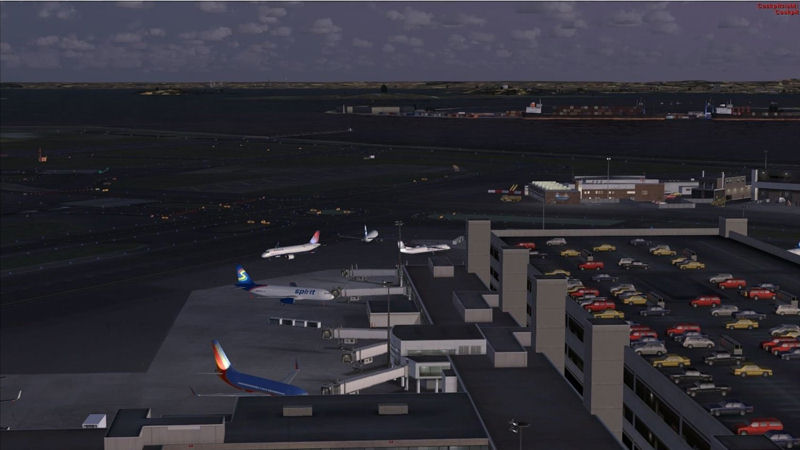 "Screenshot ""Flight Simulator X: My Traffic 2013"""