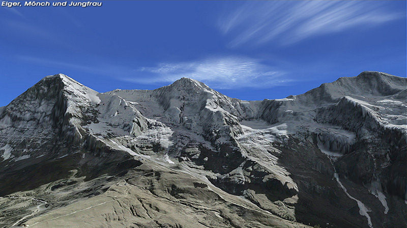 "Screenshot ""Flight Simulator X Add-on: Scenery Switzerland Professional X"""