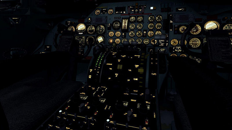 "Screenshot ""Flight Simulator X: Ultimate Airliners DC-9 Classic"""