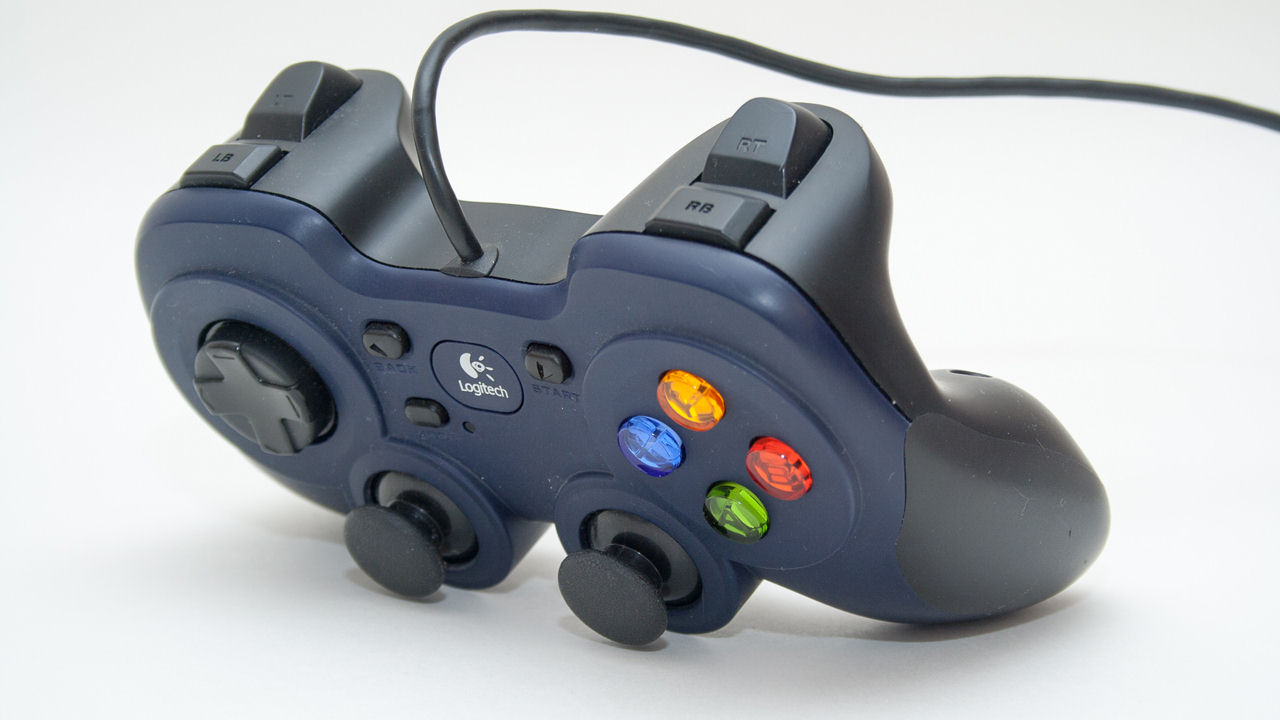 "Screenshot ""Game Pad F310 G-Series (Logitech)"""