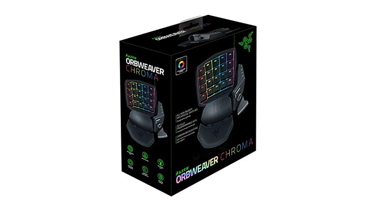 "Screenshot ""Gaming Keypad Orbweaver Chroma (Razer)"""