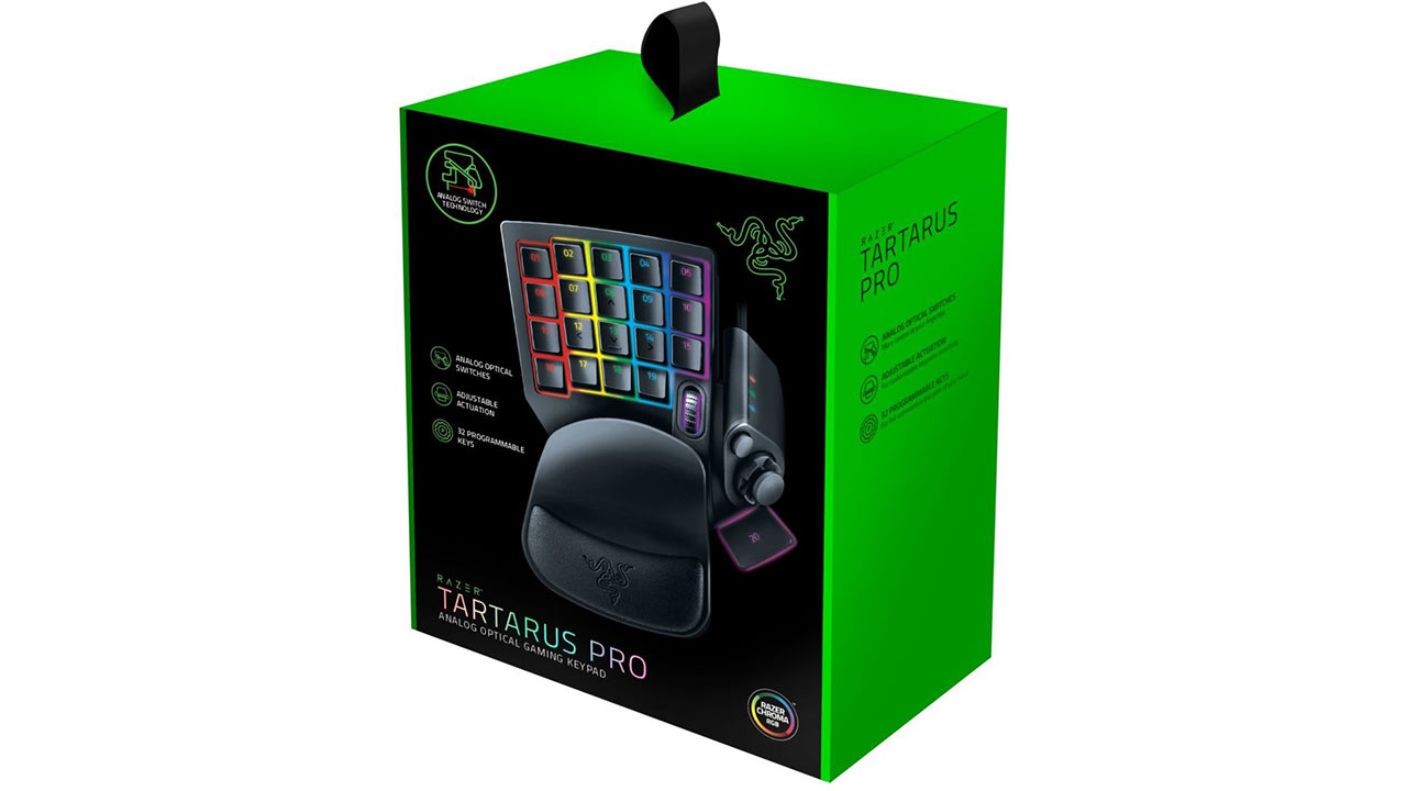 "Screenshot ""Tartarus Pro Analog Optical Gaming Keypad (Razer)"""