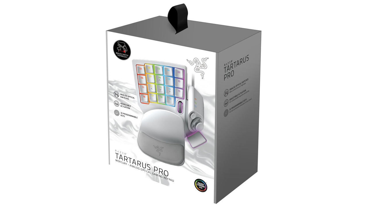 "Screenshot ""Tartarus Pro Analog Optical Gaming Keypad -Mercury- (Razer)"""