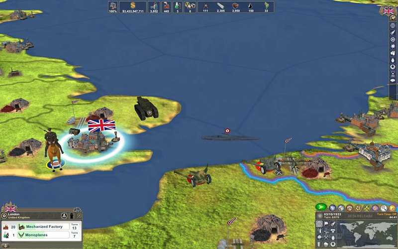 "Screenshot ""Making History 2: The War of the World"""