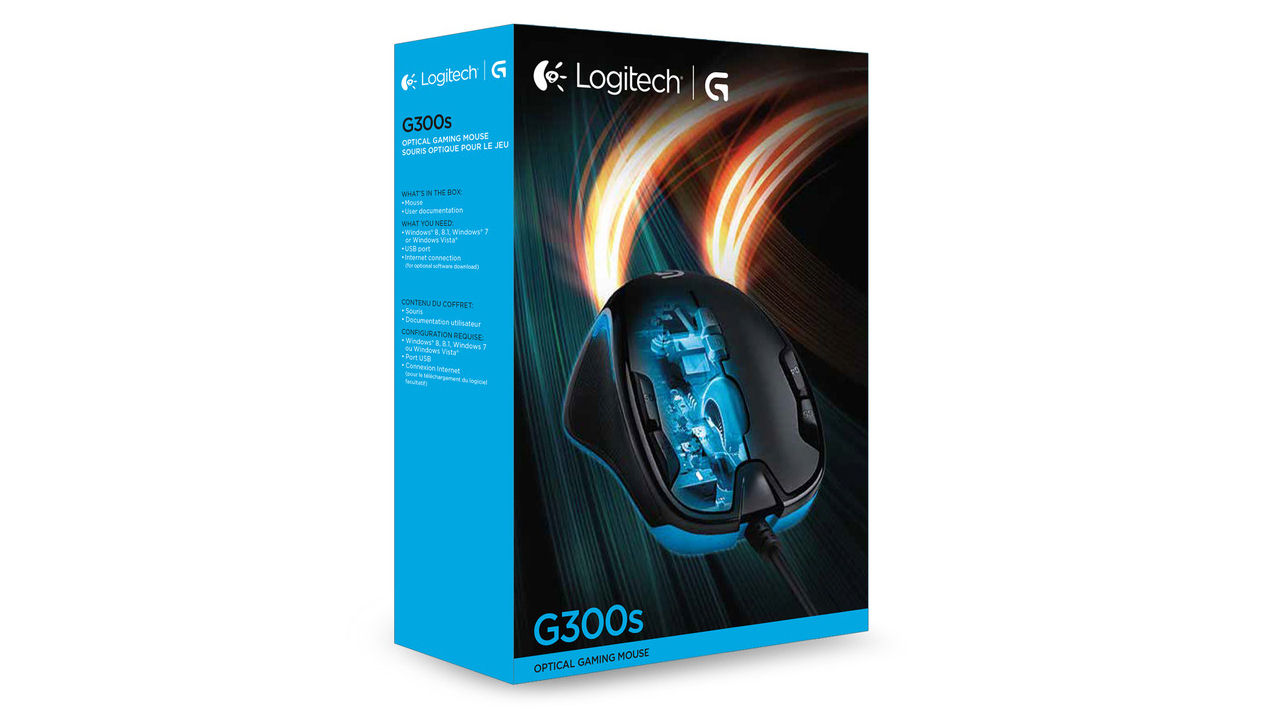 "Screenshot ""Mouse G300s G-Series (Logitech)"""
