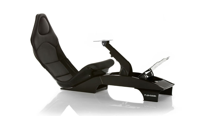 racing gaming seat formula 1 black playseat pc games. Black Bedroom Furniture Sets. Home Design Ideas