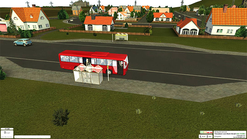 "Screenshot ""Pro Bus Simulator 2015"""
