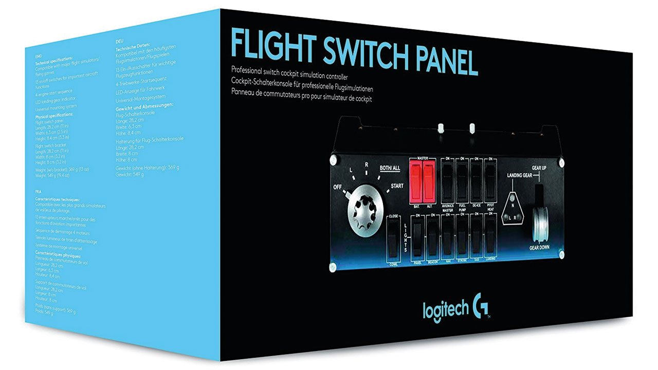 "Screenshot ""Flight Switch Panel (Logitech)"""