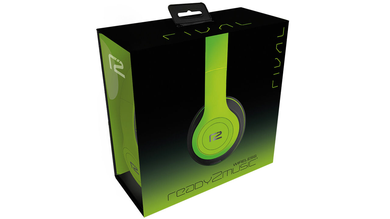 "Screenshot ""Rival Wireless Headphone -Green- (Ready2Music)"""