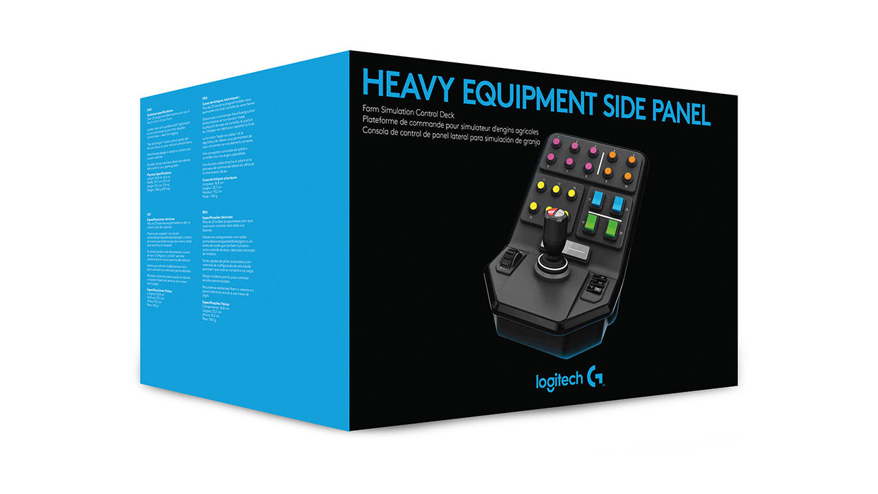"Screenshot ""Heavy Equipment Side Panel (Logitech)"""
