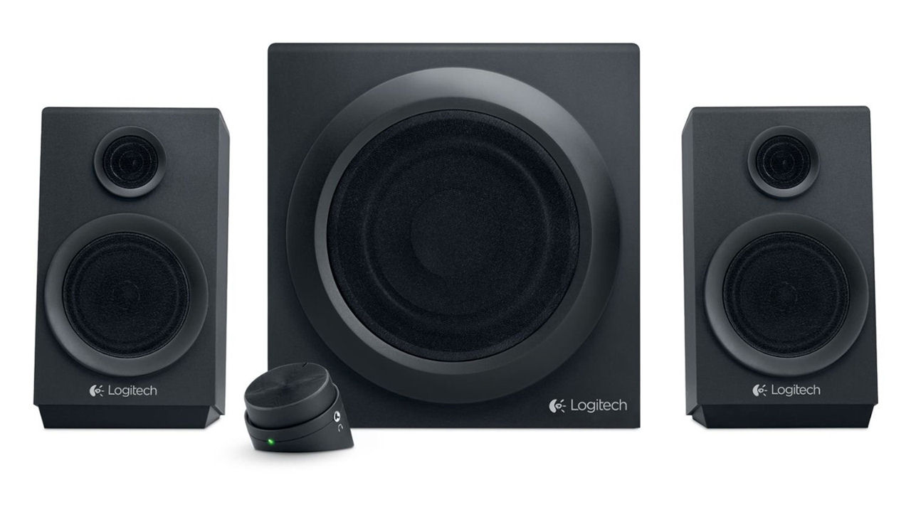 "Screenshot ""Sound System Z333 (Logitech)"""