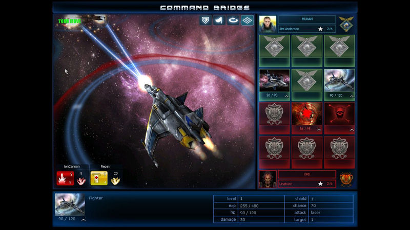 "Screenshot ""Spaceforce Constellations"""