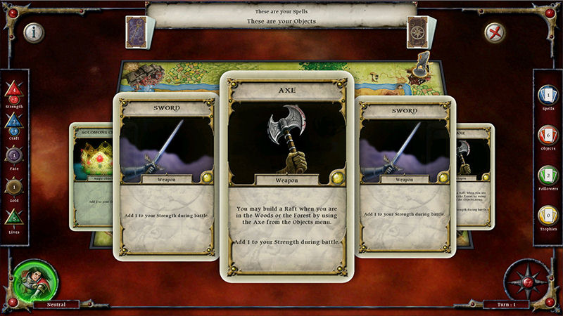 "Screenshot ""Talisman - Collector's Edition"""
