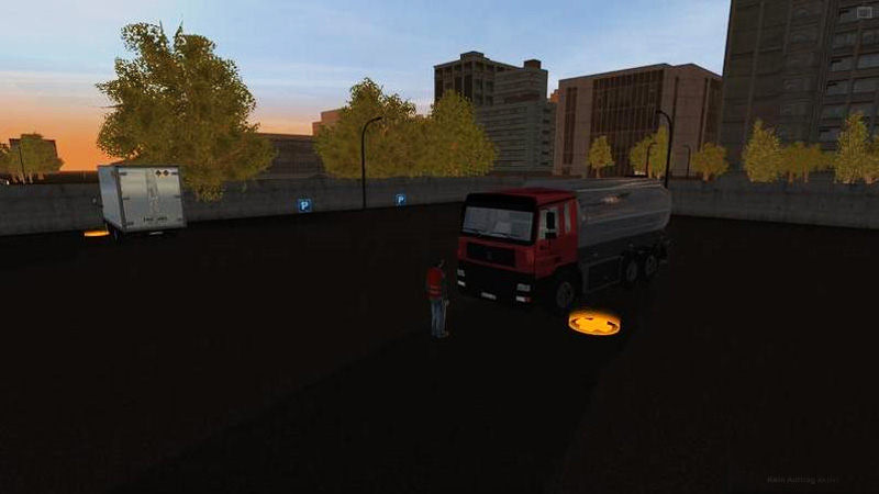 "Screenshot ""Tankwagen-Simulator 2011"""