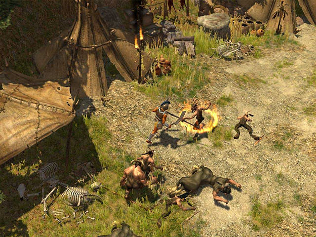 Titan Quest Screenshot.