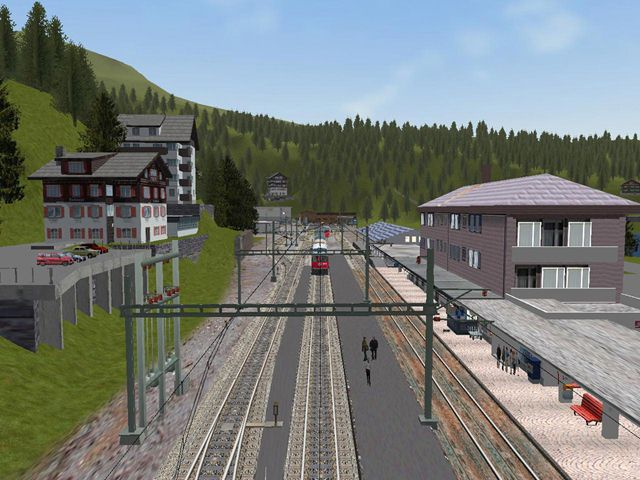 "Screenshot ""Microsoft Train Simulator Add-on: Arosa Bahn"""