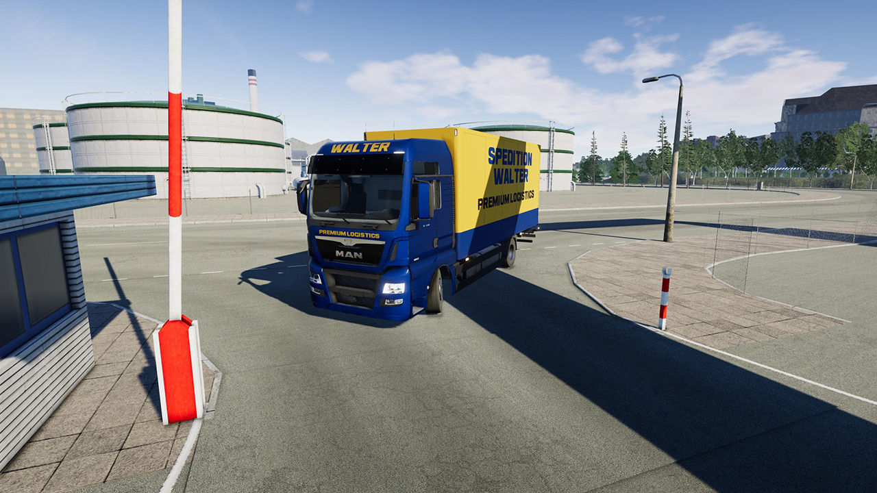 "Screenshot ""On the Road: Truck Simulator"""