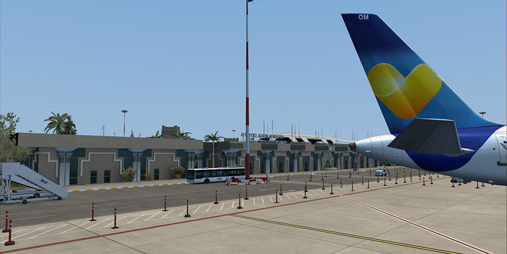 "Screenshot ""Flight Simulator X: Agadir Aeroport Al-Massira"""