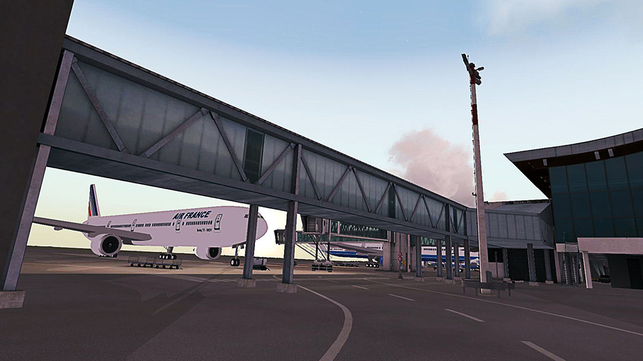"Screenshot ""Flight Simulator X: Réunion"""