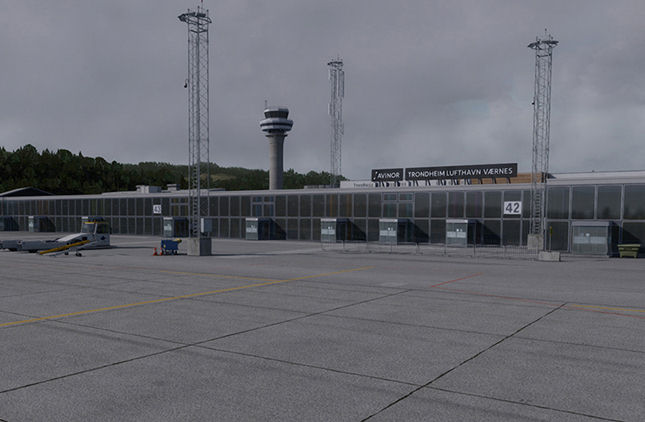 "Screenshot ""Flight Simulator X: Trondheim-Vaernes X 2.0"""